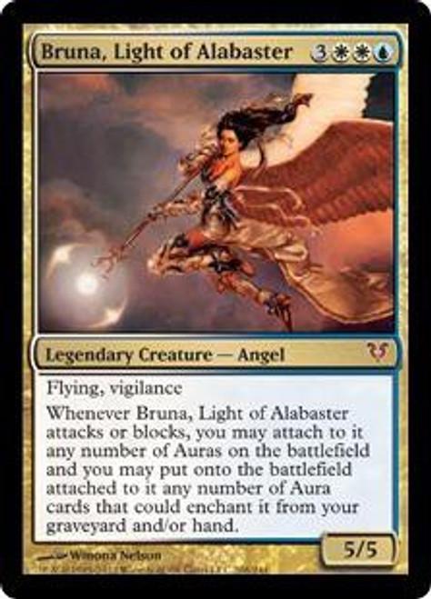 MtG Avacyn Restored Mythic Rare Bruna, Light of Alabaster #208