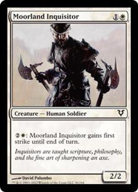 MtG Avacyn Restored Common Moorland Inquisitor #30