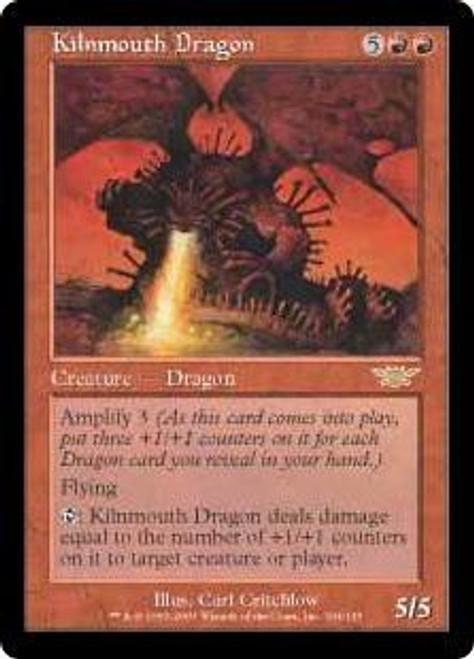 MtG Legions Rare Kilnmouth Dragon #104