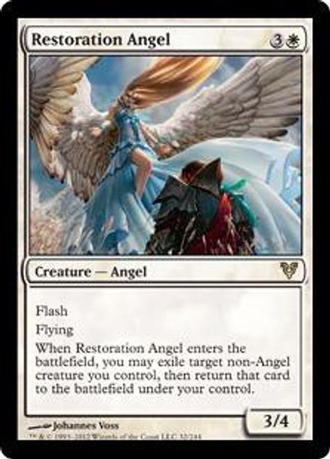MtG Avacyn Restored Rare Restoration Angel #32