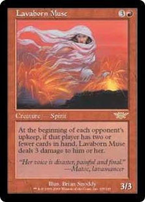 MtG Legions Rare Lavaborn Muse #105