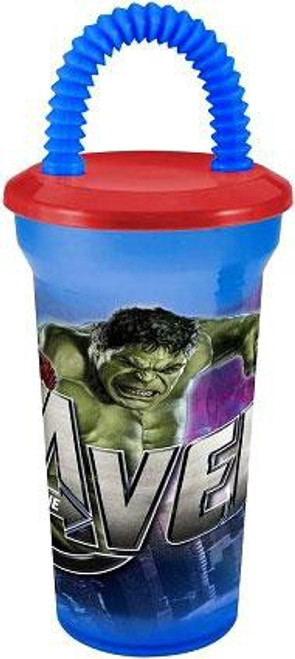 Marvel Avengers 17oz. Fun Sip Tumbler Water Bottle