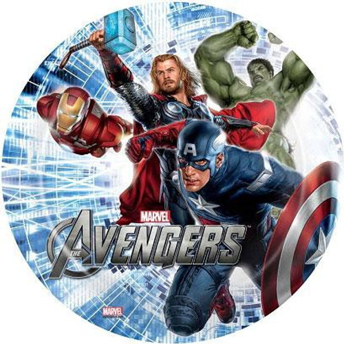 Marvel Avengers 8 Inch Plate 8-Inch
