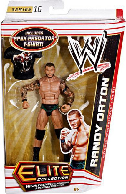 WWE Wrestling Elite Collection Series 16 Randy Orton Action Figure [Apex Predator T-Shirt]