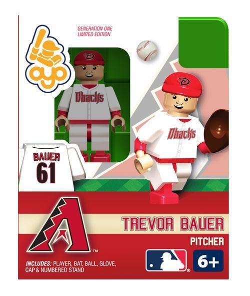 Arizona Diamondbacks MLB Generation One Trevor Bauer Minifigure