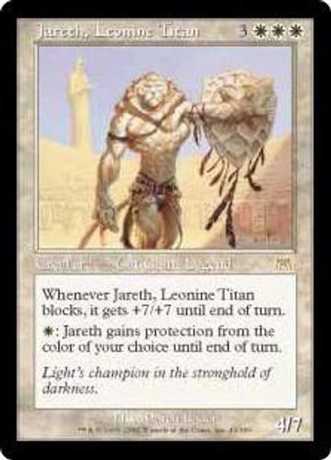 MtG Onslaught Rare Jareth, Leonine Titan #43