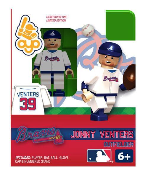 Atlanta Braves MLB Generation One Jonny Venters Minifigure