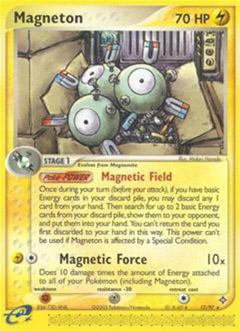 Pokemon Trading Card Game EX Dragon Rare Magneton #17
