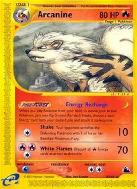 Pokemon Skyridge Rare Arcanine #3