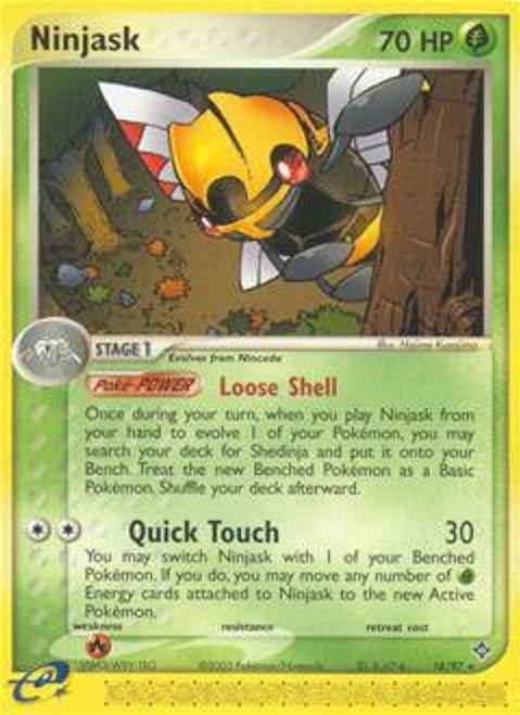 Pokemon Trading Card Game EX Dragon Rare Ninjask #18