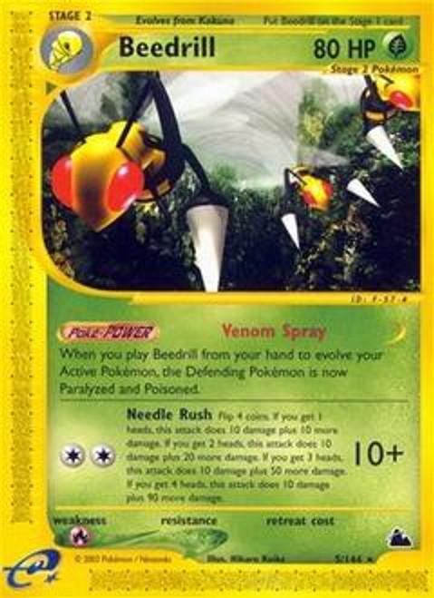 Pokemon Skyridge Rare Beedrill #5
