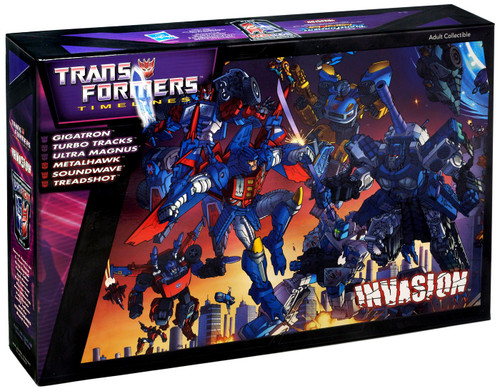 Timelines Botcon Exclusives Transformers Invasion Exclusive Action Figure Set