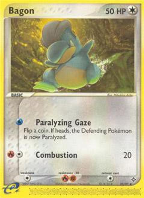 Pokemon Trading Card Game EX Dragon Uncommon Bagon #23