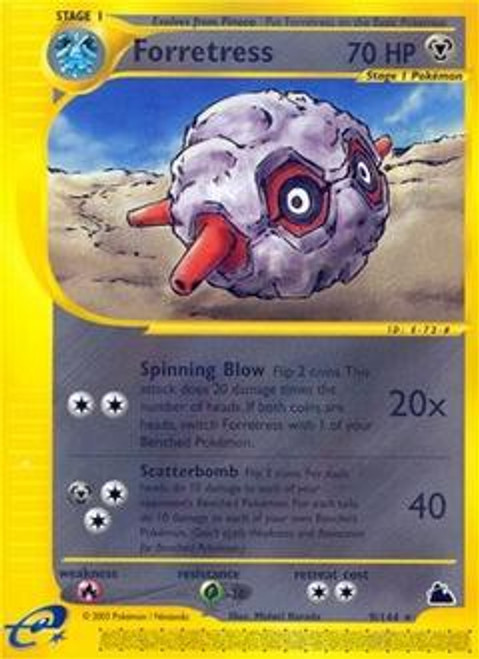Pokemon Skyridge Rare Forretress #9