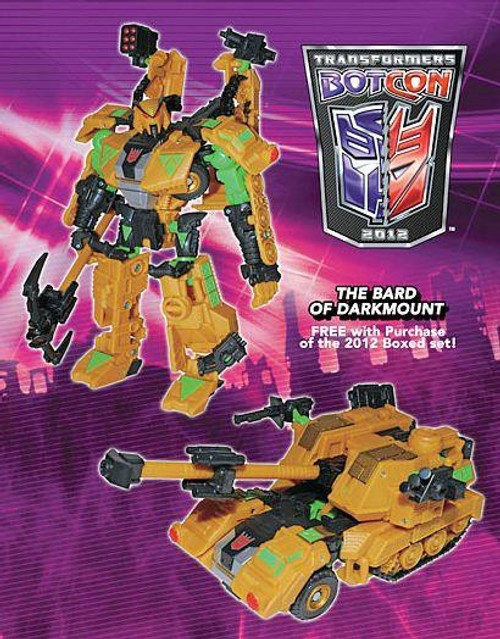 Transformers Botcon Exclusives Straxus The Bard of Darkmount Exclusive Action Figure