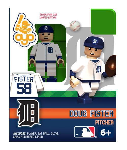 Detroit Tigers MLB Generation 1 Doug Fister Minifigure