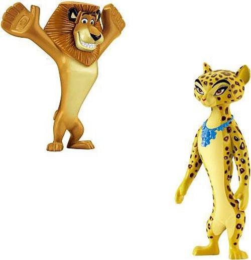 World of Madagascar Alex & Gia Exclusive Mini Figure 2-Pack