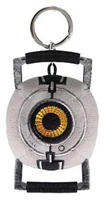 Portal 2 Space Sphere Plush Keychain