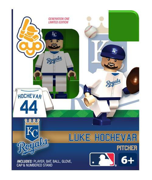 Kansas City Royals MLB Generation One Luke Hochevar Minifigure