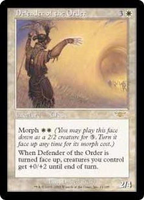 MtG Legions Rare Defender of the Order #11