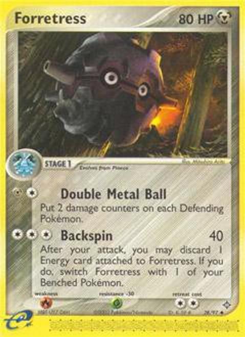 Pokemon Trading Card Game EX Dragon Uncommon Forretress #28