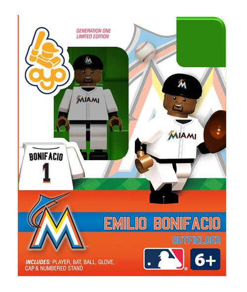 Miami Marlins MLB Generation One Emilio Bonifacio Minifigure