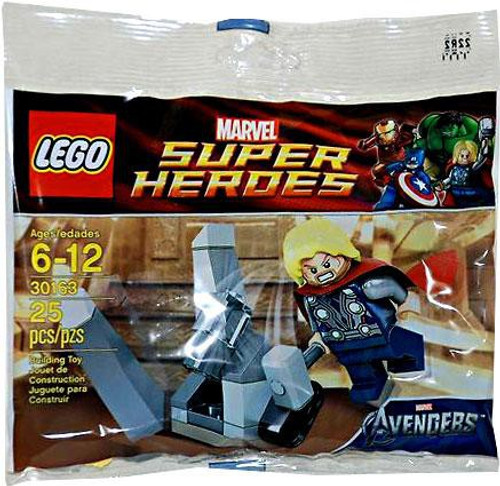 LEGO Marvel Super Heroes Avengers Thor & Cosmic Cube Exclusive Mini Set #30163 [Bagged]