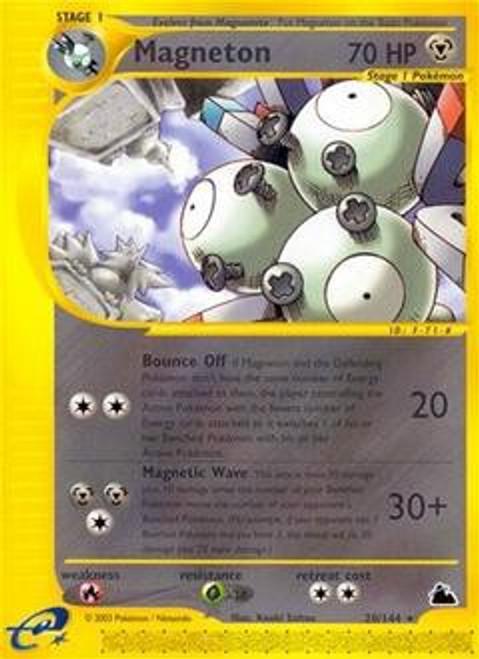 Pokemon Skyridge Rare Magneton #20