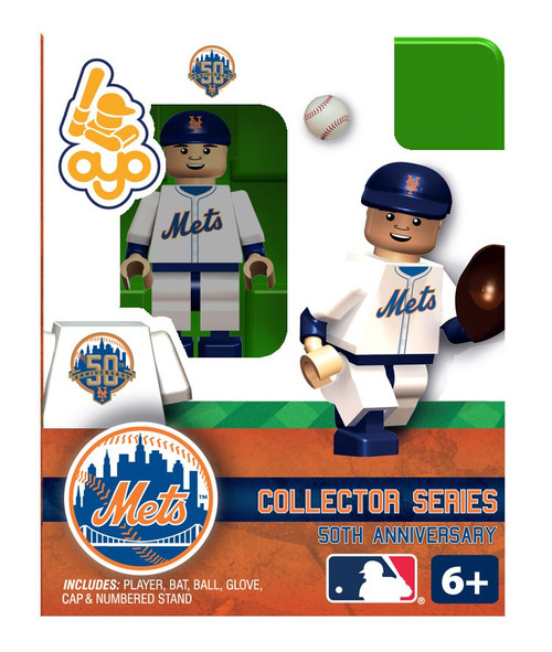 New York Mets MLB 50 Anniversary 2012 Home NY Mets Minifigure