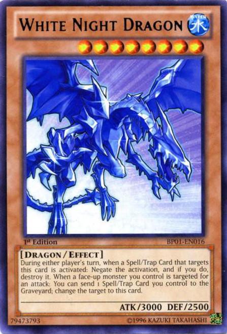 YuGiOh Battle Pack: Epic Dawn Rare White Night Dragon BP01-EN016