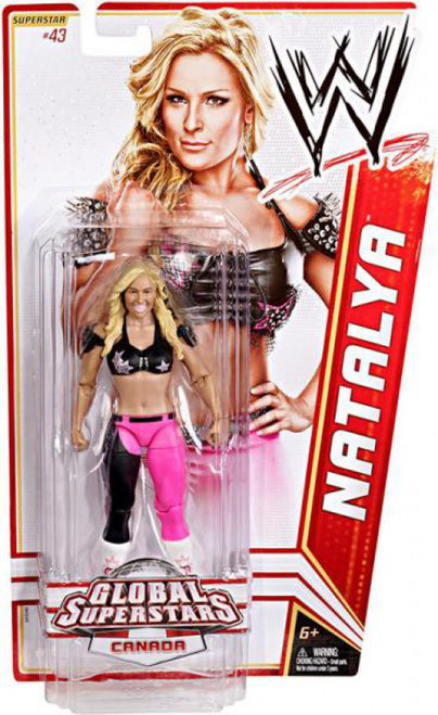 WWE Wrestling Series 20 Natalya Action Figure #43