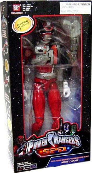 Power Rangers SPD Red Ranger in SWAT Gear Deluxe Action Figure