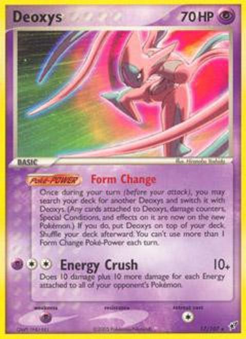 Pokemon Trading Card Game EX Deoxys Rare Deoxys (Attack) #17