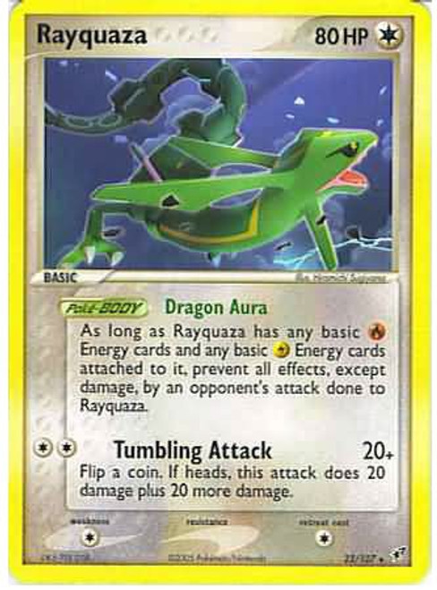 Pokemon Trading Card Game EX Deoxys Rare Rayquaza #22