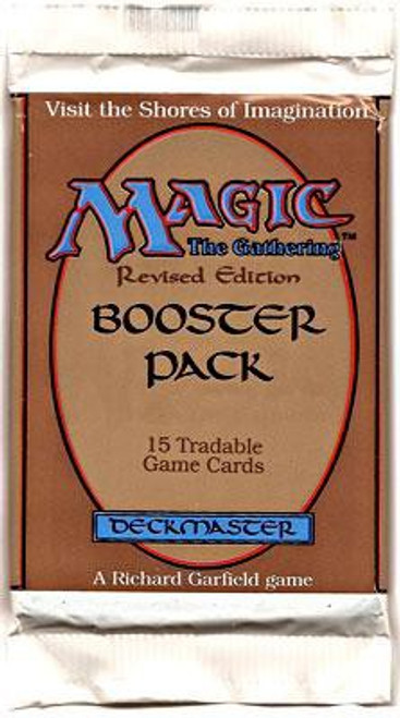 MtG Trading Card Game Revised Booster Pack