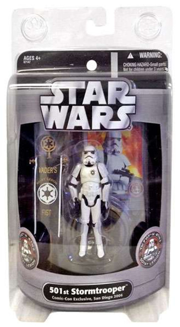 Star Wars Expanded Universe 501st Stormtrooper Exclusive Action Figure