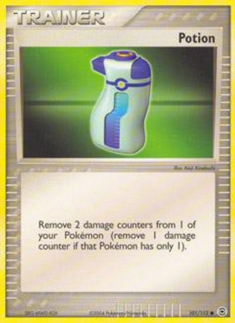 Pokemon EX Fire Red & Leaf Green Common Potion #101