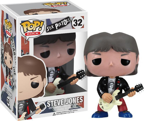 Funko Sex Pistols POP! Rocks Steve Jones Vinyl Figure #32