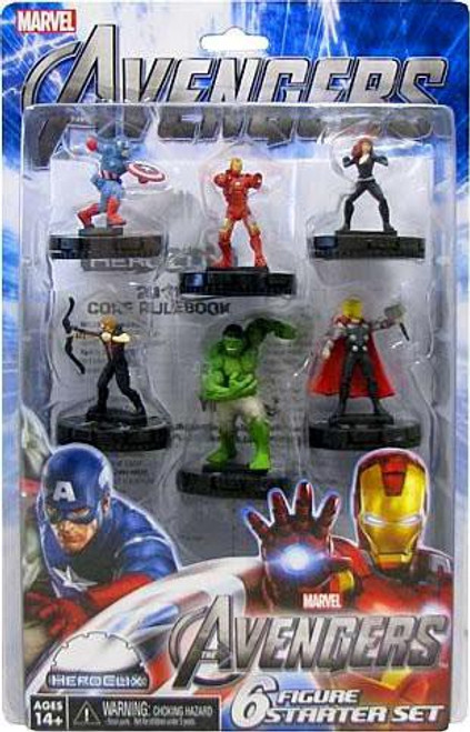 Marvel HeroClix Avengers Movie Starter Set