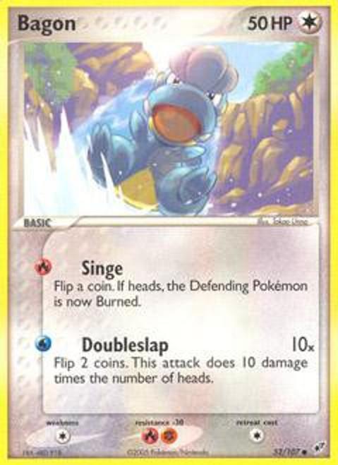 Pokemon Trading Card Game EX Deoxys Common Bagon #52