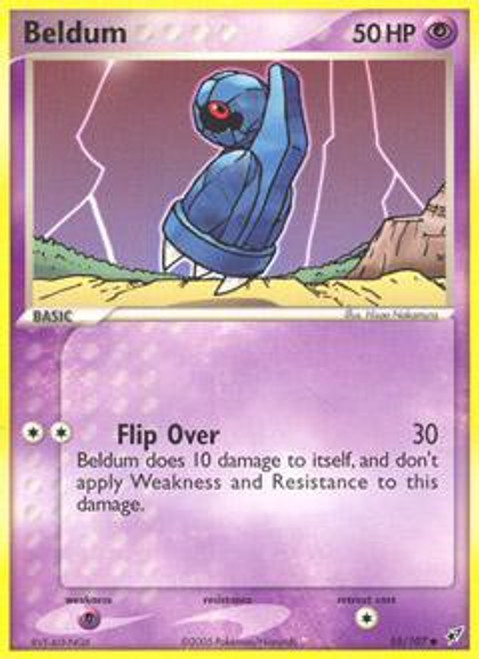 Pokemon Trading Card Game EX Deoxys Common Beldum #55