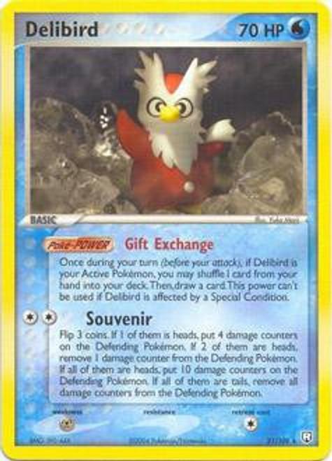 Pokemon EX Team Rocket Returns Rare Delibird #21