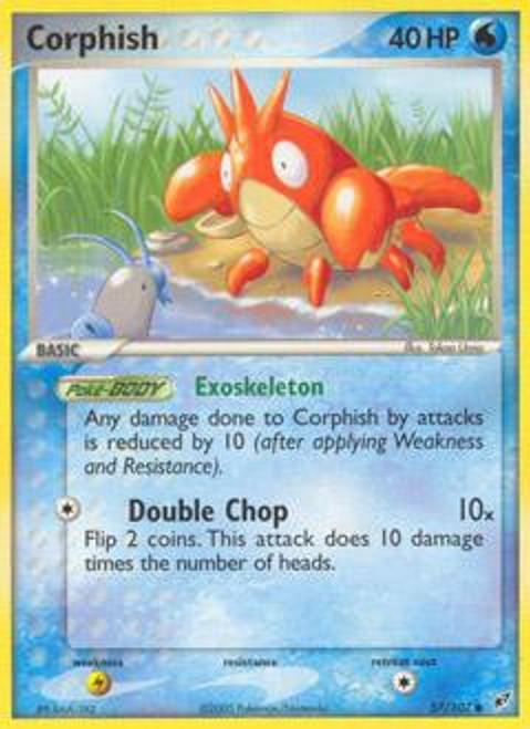 Pokemon Trading Card Game EX Deoxys Common Corphish #57