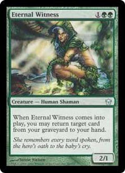 MtG Fifth Dawn Uncommon Eternal Witness #86