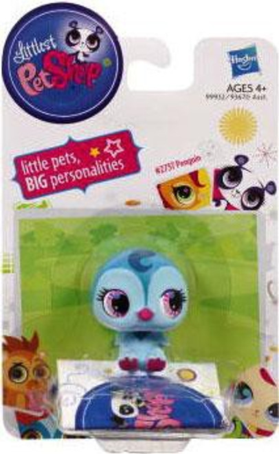 Littlest Pet Shop Penguin Figure [Blue]