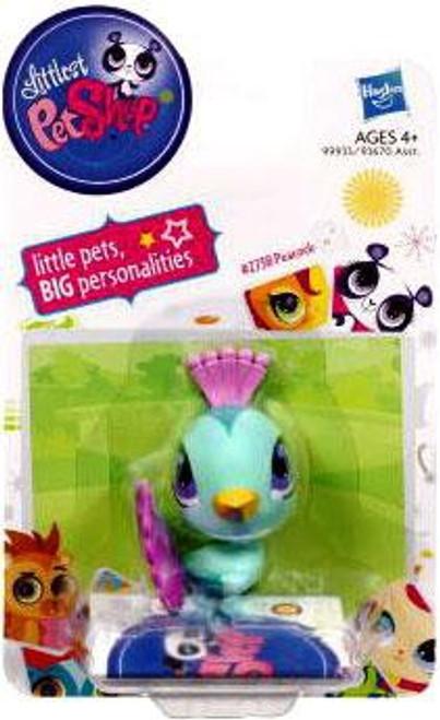 Littlest Pet Shop Peacock Figure #2759 [Teal]