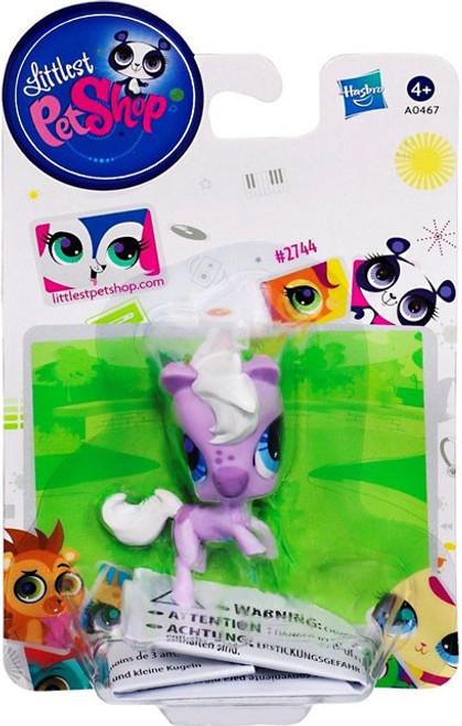 Littlest Pet Shop Horse Figure #2744 [Purple]