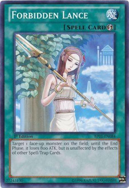 YuGiOh Battle Pack: Epic Dawn Common Forbidden Lance BP01-EN084