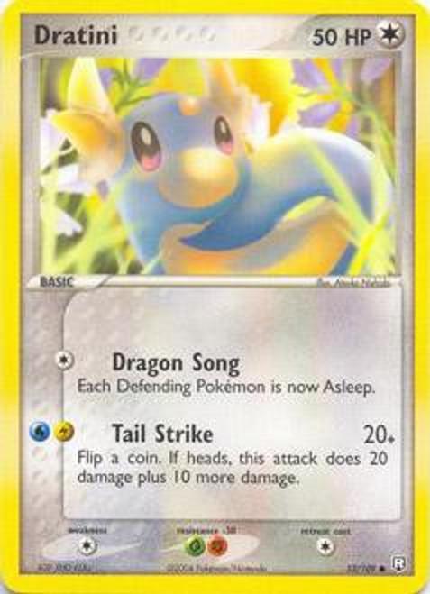 Pokemon EX Team Rocket Returns Common Dratini #53