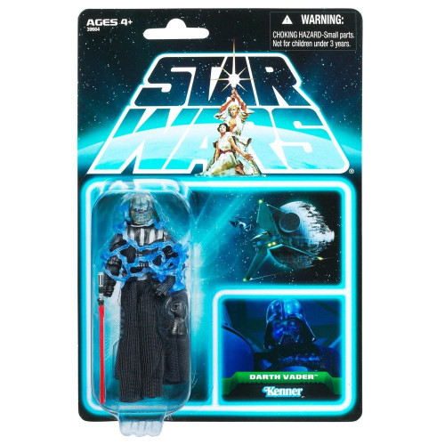 Star Wars Return of the Jedi 2012 Vintage Collection Darth Vader Action Figure #06 [Electrocuted]